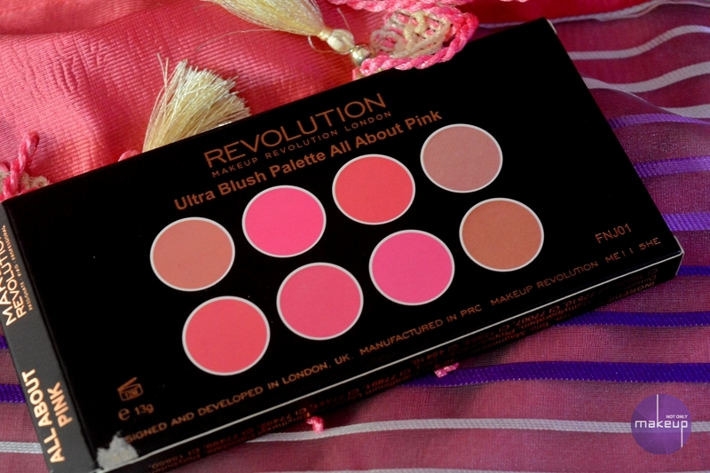 Makeup Revolution London Ultra Blush Palette All About Pink Review