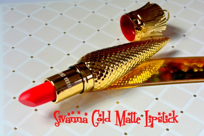 Sivanna Colors Gold Crown Lipstick Review And Pictures Not Only